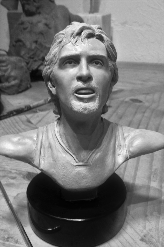 Dirk Nowitzki Sculpture Statue - yes